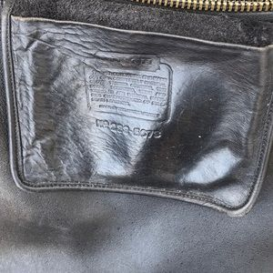 Authentic vintage coach bucket bag